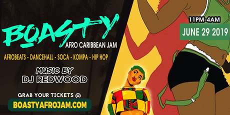 Boasty Afro Caribbean Jam tickets