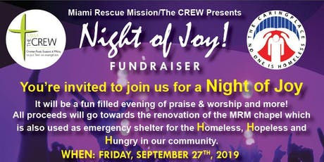 Night of Joy Fundraiser tickets