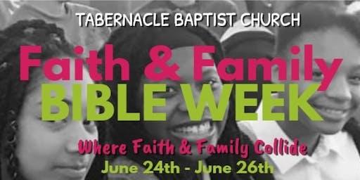 Faith & Family Bible Week