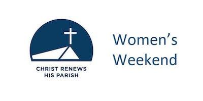 Christ Renews His Parish Women's Weekend