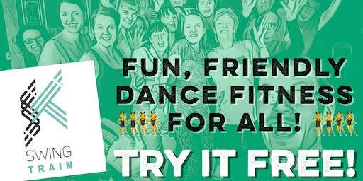 Fun Dance Fitness to Joyful Jazz - Try SwingTrain FREE!