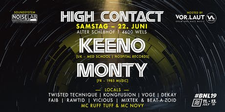 High Contact Summer 2019 w// Keeno & Monty Tickets