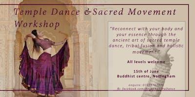 Sacred Dance Fusion Workshop