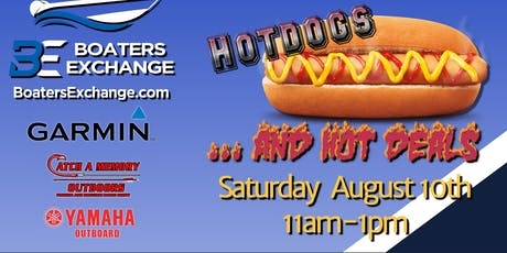 Boaters Exchange Hot Dogs Hot Deals Event tickets
