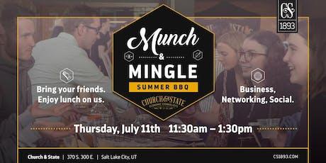 Munch & Mingle: Summer BBQ  tickets