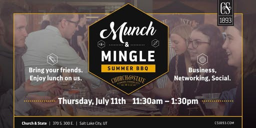 Munch & Mingle: Summer BBQ