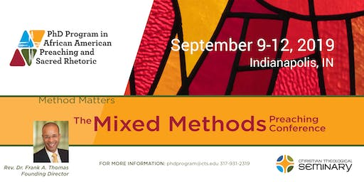 The Mixed Methods Preaching Conference