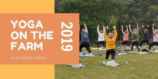 Yoga On The Farm 2019