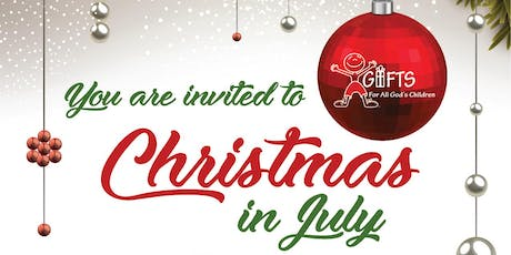 Christmas In July Annual Fundraiser tickets
