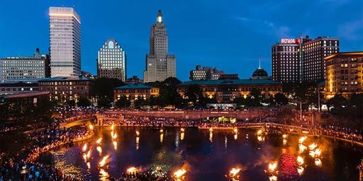 Day Trip to Providence, RI for WaterFire