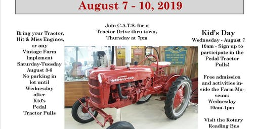 2019 Coopersville Area Tractor Show