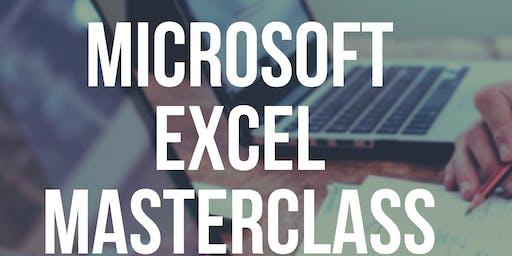 Microsoft Excel Masterclass