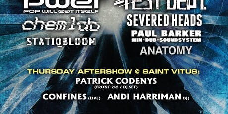 Cold Waves Afters: PATRICK CODENYS (DJ) + CONFINES (Live) + ANDI  HARRIMAN tickets