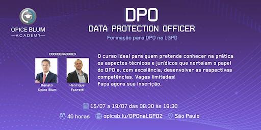 Formação para DPO na LGPD