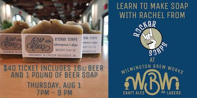 Let's Make Soap - Beer Soap Class