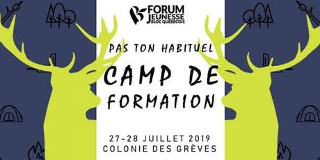 Pas ton habituel Camp de formation tickets