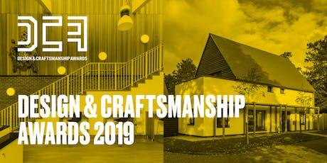 The Design & Craftsmanship Awards 2019 tickets