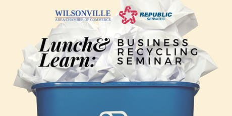 September Lunch & Learn: Business Recycling Seminar tickets