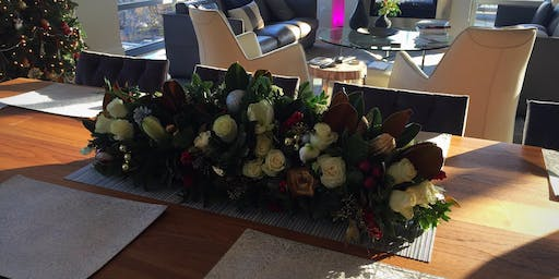 Holiday Centerpiece - Morning