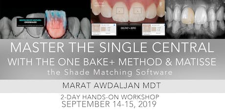 Master the Single Central with the One Bake+ Method & MATISSE tickets