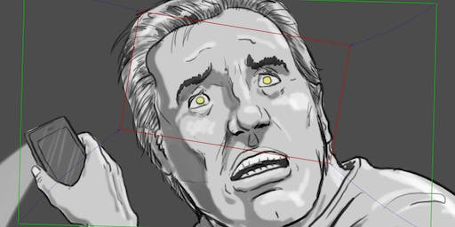 """Storyboarding: A Presentation from artist Mark Simon and screening of """"The Waterboy"""""""