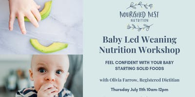 Baby Led Weaning Workshop - OBWC
