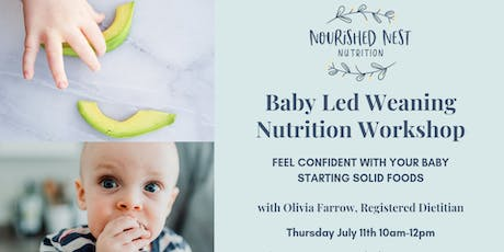 Baby Led Weaning Workshop - OBWC tickets