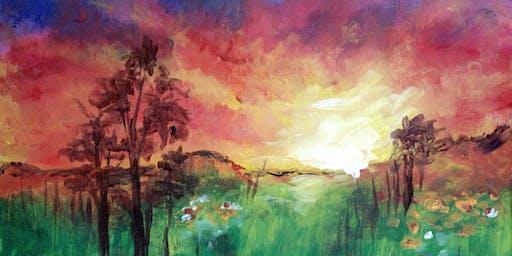 Wildflower Sunset at Rm. 727 Gastropub