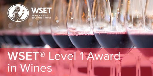 WSET Level 1 in Wines presented by Florida Wine Academy