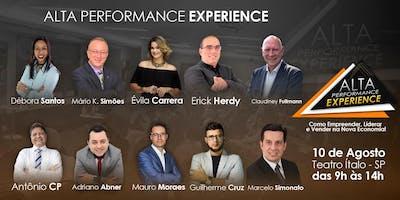 DEISE - ALTA PERFORMANCE EXPERIENCE - Como Empreender, Liderar e Vender na Nova Economia!