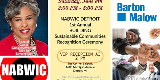 NABWIC DETROIT 1st Annual BUILDING Sustainable Communities Awards and Recognition Ceremony