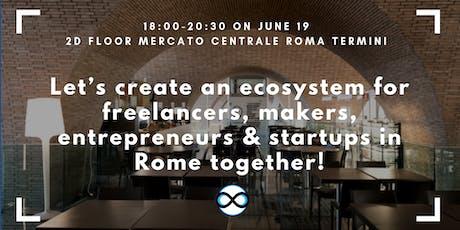 Let's create an Ecosystem for Free Professionals in Rome biglietti
