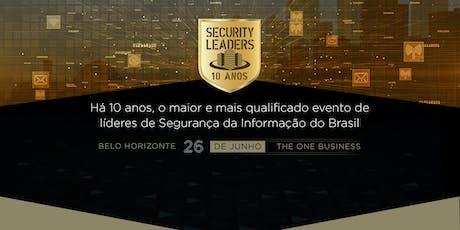 Security Leaders Belo Horizonte - 5ª Edição tickets