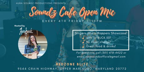 Soundz Cafe Open Mic tickets
