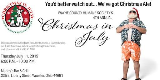 Wayne County Humane Society - Christmas in July!