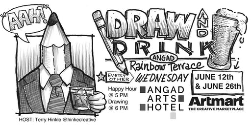 Angad Arts Hotel DRAW & DRINK June 26