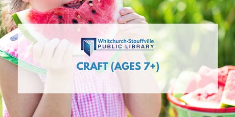 Craft (ages 7+) tickets