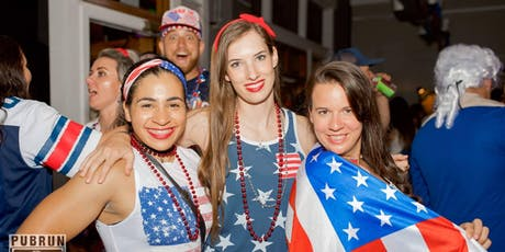 First Friday Pub Run : Red, White and Blue! AMERICA! tickets