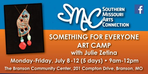 Something for Everyone Art Camp