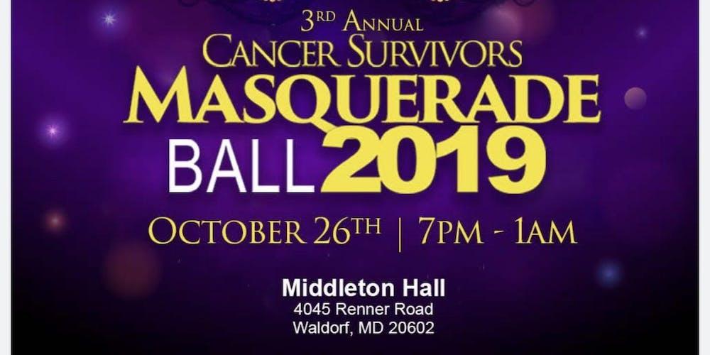 Cancer Survivors Masquerade Ball 2019 Tickets, Sat, Oct 26, 2019 at
