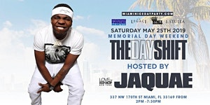JAQUAE of Love and Hip Hop NY hosts THE DAY SHIFT...