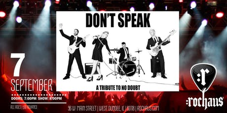 Don't Speak - Tribute to No Doubt tickets