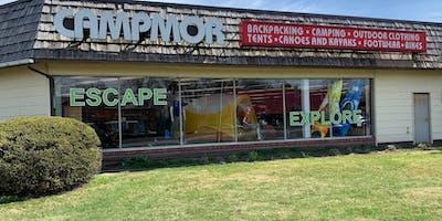 Sidewalk Sale - Campmor Retail Store