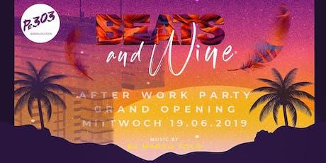 Beats & Wine – Die neue AFTERWORK PARTY am Rheinauhafen Tickets