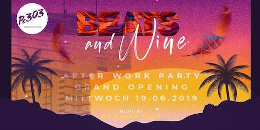 Beats & Wine – Die neue AFTERWORK PARTY am Rheinauhafen