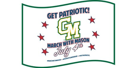 MARCH WITH GEORGE MASON UNIVERSITY ON JULY 4TH! tickets