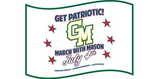 MARCH WITH GEORGE MASON UNIVERSITY ON JULY 4TH!
