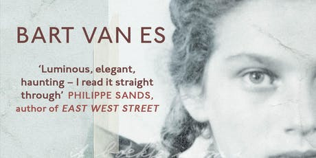 OpuS Event: An Evening with Bart van Es, Author of The Cut Out Girl tickets