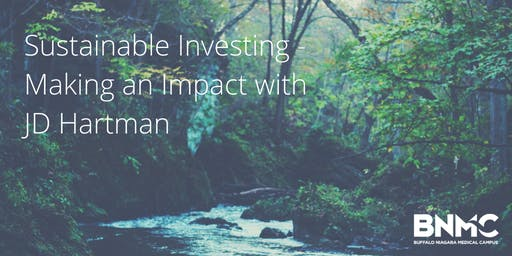 Lunch + Discussion: Sustainable Investing with JD Hartman