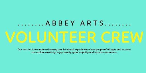 Abbey Arts Volunteer Opportunities